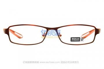 亚虎娱乐中心pt_佐罗ZOLO_Z6764 C5_红色高档合金+TR90_女士全框眼镜框