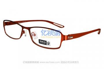 亚虎娱乐手机网页版_佐罗ZOLO_Z6764 C5_红色高档合金+TR90_女士全框眼镜框