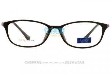 亚虎娱乐中心pt_真维斯_MX362 C7-8_TR90_黑色_超轻_女士全框眼镜框
