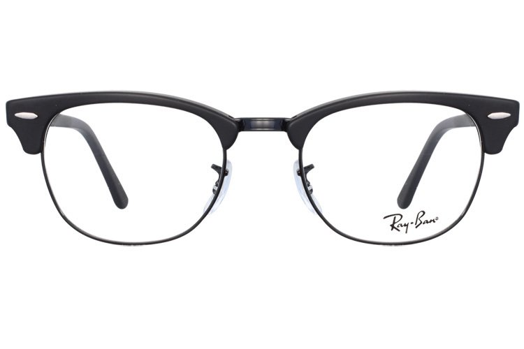 亚虎娱乐手机网页版_雷朋Ray-Ban_RB5154 2077_高级精品板材_哑黑色_男女通用全框弹簧腿眼镜框