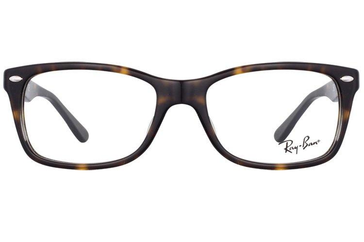 亚虎娱乐官网登入_雷朋Ray-Ban_RB5228F 2012_高级精品板材_玳瑁色_男女通用全框弹簧腿眼镜框