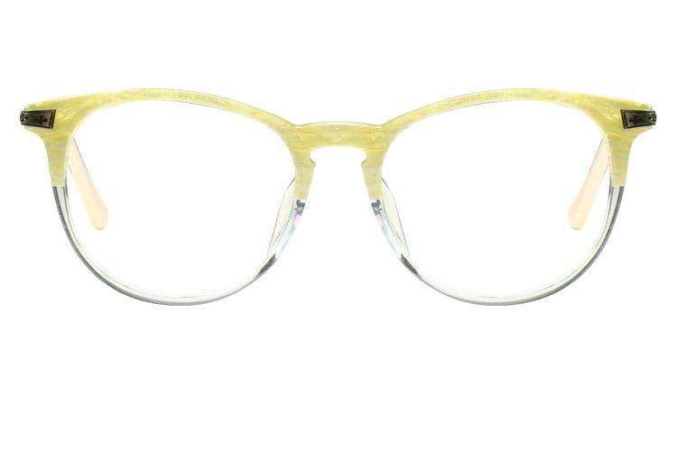 亚虎娱乐中心pt_佐川藤井_74308 C052F_手造板材+金属_潮人复古白色全框眼镜框