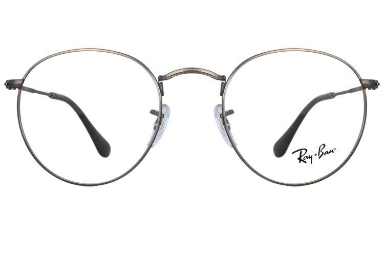 亚虎娱乐手机网页版_雷朋Ray-Ban_RB3447V 2620_高档合金_枪灰色_男女通用全框眼镜框