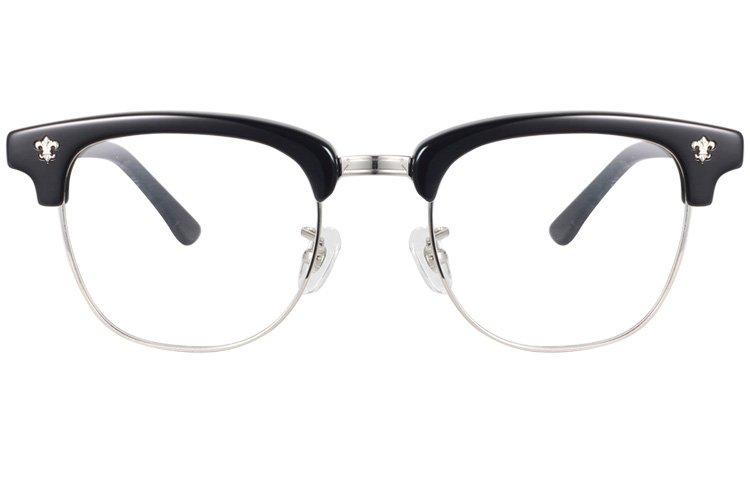亚虎娱乐官网登入_佐川藤井_81211A C3_手造板材_潮人复古黑色全框眼镜框