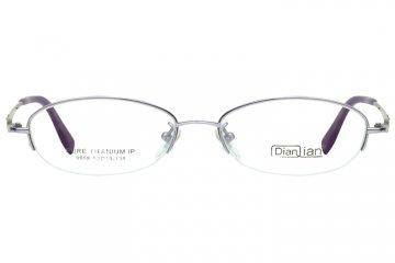 亚虎娱乐中心pt_亚虎娱乐手机网页版_亚虎娱乐官网登入_点倩_9958_纯钛_女士紫色(商务款)半框眼镜框