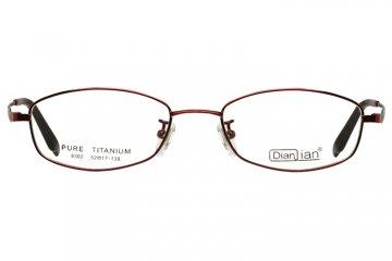 亚虎娱乐中心pt_亚虎娱乐手机网页版_亚虎娱乐官网登入_点倩_8302_纯钛_女士红色(商务款)全框眼镜框