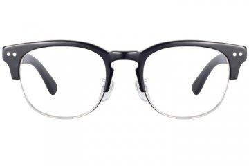 亚虎娱乐中心pt_佐川藤井_50141 C1_精品系列_手造板材_潮人复古黑色全框眼镜框