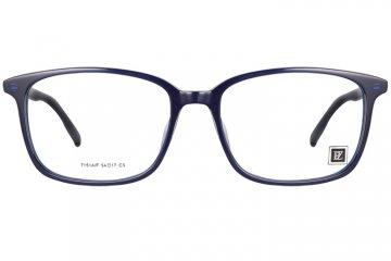 亚虎娱乐手机网页版_派柏雷兹_7151A/F C3_超轻板材_潮人时尚男女通用深蓝色全框眼镜框