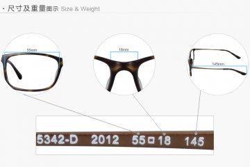 亚虎娱乐中心pt_雷朋Ray-Ban_5342D 2012_高级精品板材_玳瑁色_男女通用弹簧腿全框眼镜框