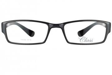 亚虎娱乐中心pt_可拉斯Class(韩国)_TR9105 C1_TR90_超轻男士亮黑色_平光防蓝光眼镜(含明月防蓝光镜片)