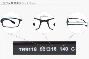 亚虎娱乐中心pt_可拉斯Class(韩国)_TR9118 C1_TR90_超轻男士亮黑色眼镜框