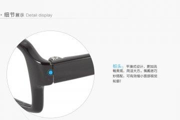 亚虎娱乐手机网页版_可拉斯Class(韩国)_TR9118 C1_TR90_超轻男士亮黑色眼镜框