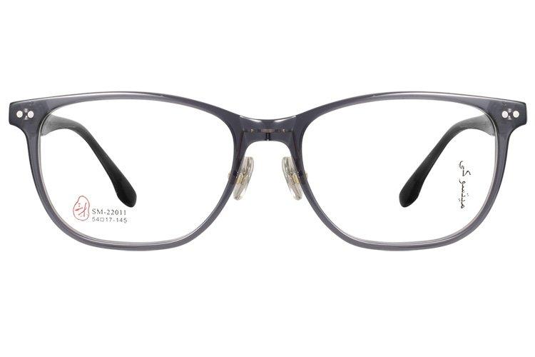 亚虎娱乐手机网页版_三木_SM-22011 C6_手造板材_潮人复古灰色全框眼镜框