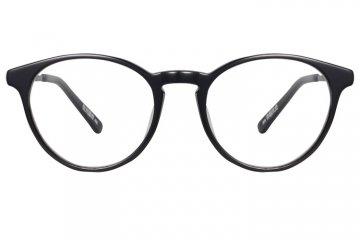 亚虎娱乐中心pt_佐川藤井_50153 C01_手造板材+高级合金_潮人复古黑色全框眼镜框