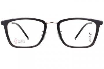 亚虎娱乐官网登入_三木_SM-22035_手造板材+高级合金_潮人复古彩纹半框眼镜框