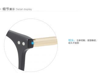 亚虎娱乐手机网页版_三木_SM-22016 C1_手造板材+高级合金_潮人复古黑色全框眼镜框
