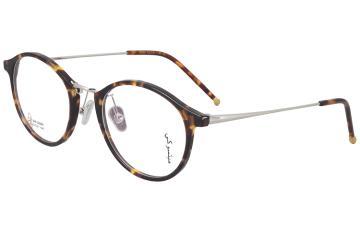 亚虎娱乐中心pt_三木_SM-22029 C2_手造板材+高级合金_潮人复古玳瑁色全框眼镜框