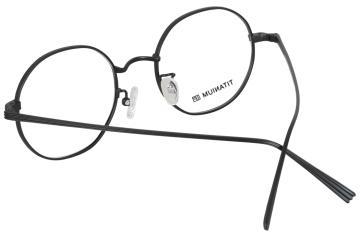 亚虎娱乐中心pt_亚虎娱乐手机网页版_亚虎娱乐官网登入_佐川藤井_TI17025 C7_精品系列_高档纯钛_潮人复古黑色全框眼镜框