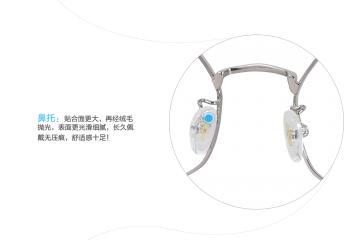 亚虎娱乐官网登入_佐川藤井_31050 C2_精品系列_高级合金_潮人复古银色全框眼镜框