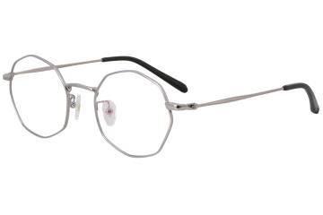 亚虎娱乐中心pt_佐川藤井_31050 C2_精品系列_高级合金_潮人复古银色全框眼镜框