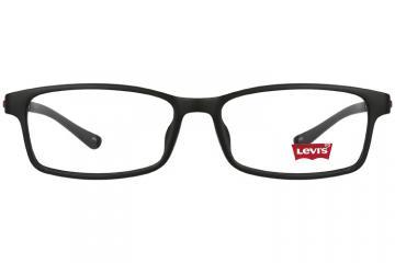 亚虎娱乐中心pt_李维斯_LS03080 C01_TR90_黑色_男女通用全框眼镜框