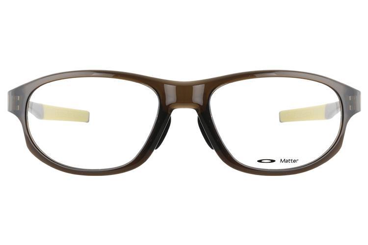 亚虎娱乐官网登入_欧克利_OX8067-0356_记忆塑料_男女通用咖啡色全框_超轻运动眼镜