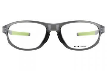 亚虎娱乐官网登入_欧克利_OX8067-0256_记忆塑料_男女通用灰色全框_超轻运动眼镜