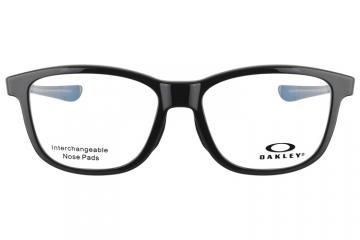 亚虎娱乐手机网页版_欧克利_OX8106-0252_记忆塑料_男女通用亮黑色全框_超轻运动眼镜