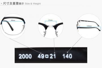 亚虎娱乐中心pt_雷朋Ray-Ban_RB5154 2000_高级精品板材_黑色_全框弹簧腿眼镜框