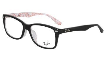 亚虎娱乐中心pt_雷朋Ray-Ban_RB5228F 5014_高级精品板材_外黑内白_全框眼镜框