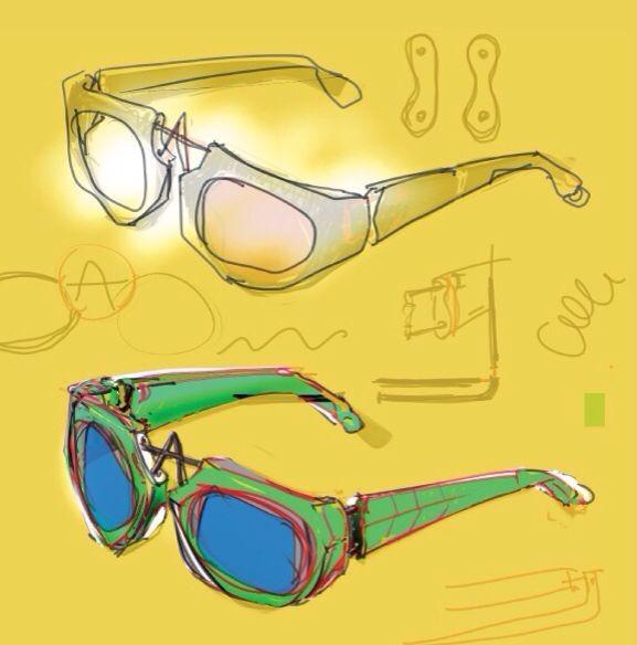"pq眼镜引领眼镜设计新风向.由英国设计师Ron Arad创立的Pq eyewear,突显配戴者的个性。A-frame系列的配戴者可自由调节鼻托的高低位置,而可调节的鼻托设计除了令镜框外形有变化外,还能让配戴者尽享多变造型,突显个人风格。  品牌十分注重眼镜的质量,采用上乘的材质打造耐用的眼镜系列。  ""在设计眼镜界里,目前为止鲜有前卫、新锐的想法。今天很多产品都有一点复古的感觉,有时复古产品也在模仿复古概念,因为我感到这个领域太缺乏活力了,需要做出一点贡献,""  设计师认为。A-F"