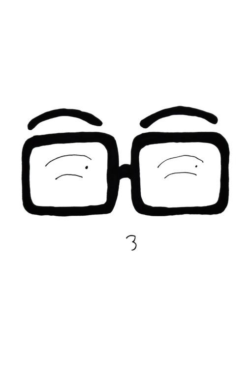镜子简笔画卡通