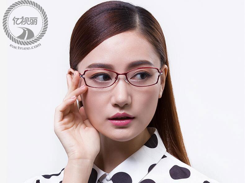 一听名字你就知道了吧,专为我们女性定制的眼镜架啊,知性,优美的成熟