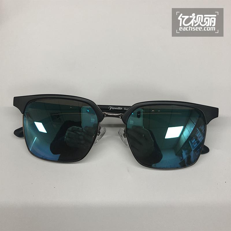 「专题」明月偏光炫彩冰蓝色1.60近视太阳眼镜,近视的你夏天必备单品,没有之一